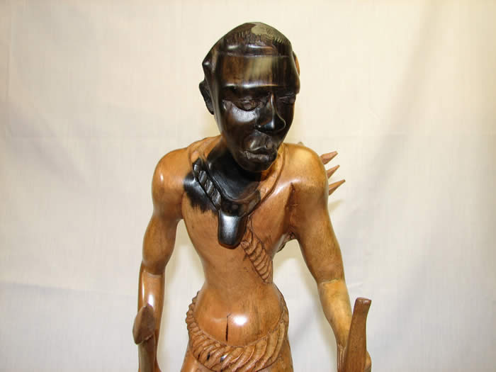 African art, African masks, nigerian fine art, wood statue, wood carving, close up