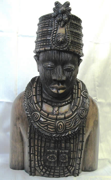 Queen Moremi, African mask, African fine art, S.W. Nigeria art, wood carving