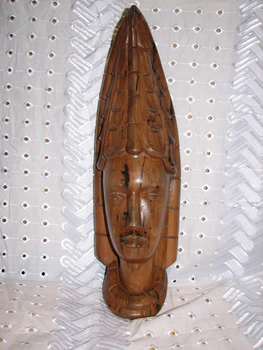Princess Mask, Wood carving, african art, african mask