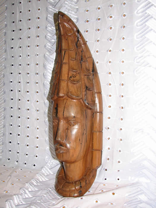 Princess mask, african masks, african art, wood carving