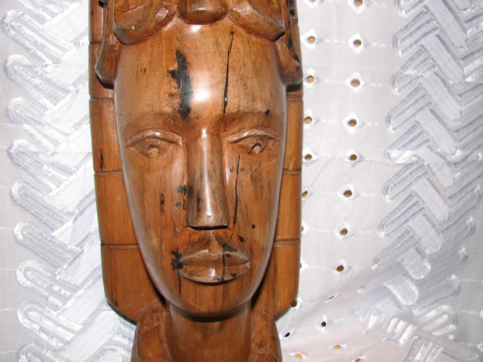 Princess mask close up, african masks, african art, wood carving, ebony wood