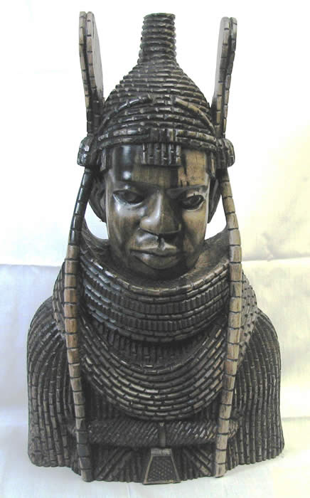home decor, african art, african masks, Oba of Benin, Nigerian art, wood carving