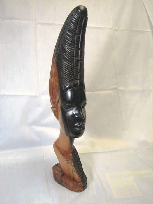 home decor, african art, african masks, wood statue, fine art, wood carving